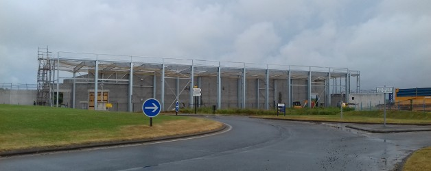 Construction d'un bâtiment industriel de stockage de 1600m²