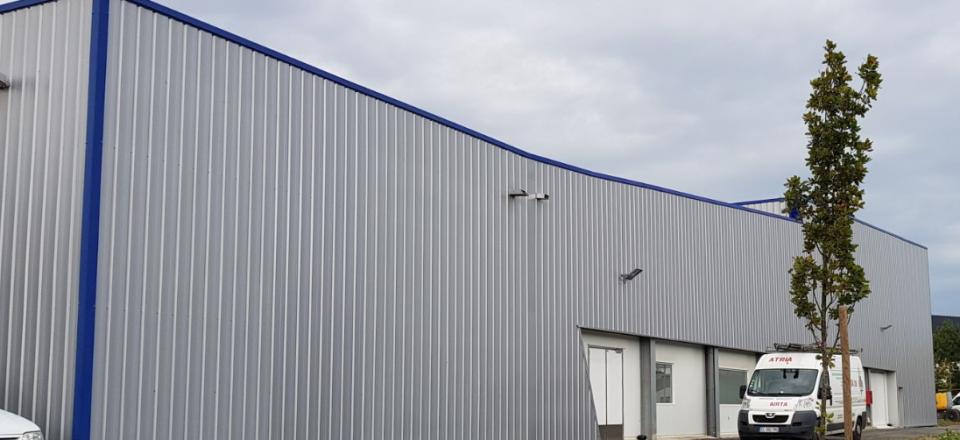 Extension d'un atelier de production